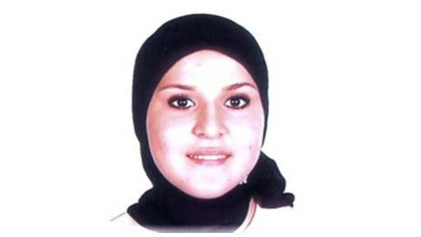 One suspect, a 19-year-old woman, was named as Fauzia Allal Mohamed, pictured here in a photo released by Spain's interior ministry.