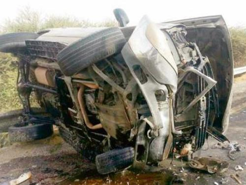 The accident that killed four people in Balqarn.