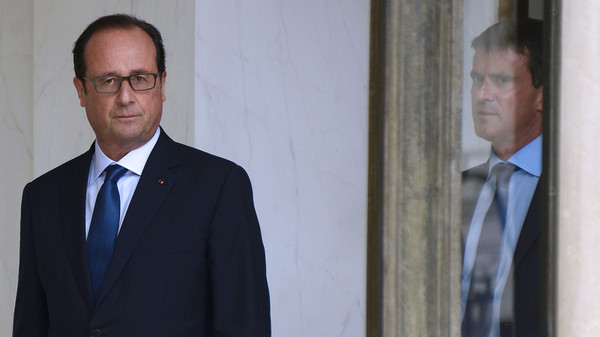 French President Francois Hollande dismissed Syria's leader as a credible partner for the West's fight against ISIS.