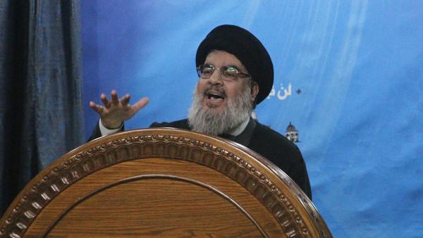 Hezbollah leader Sayyed Hasan Nasrallah.