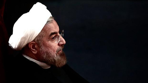 Iran's President Hassan Rouhani delivered a broadside at critics of his efforts to engage with the West and seek a nuclear deal.