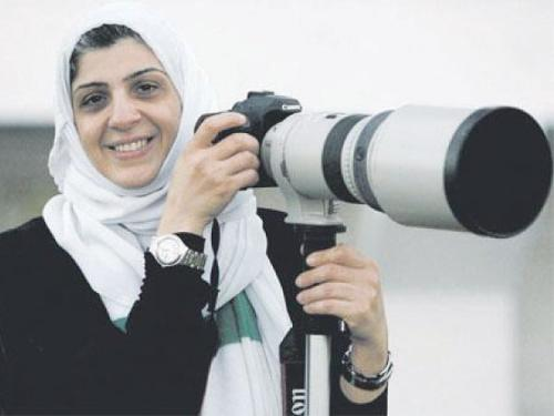 Manal Al-Dabbagh, the first Saudi female sports photographer