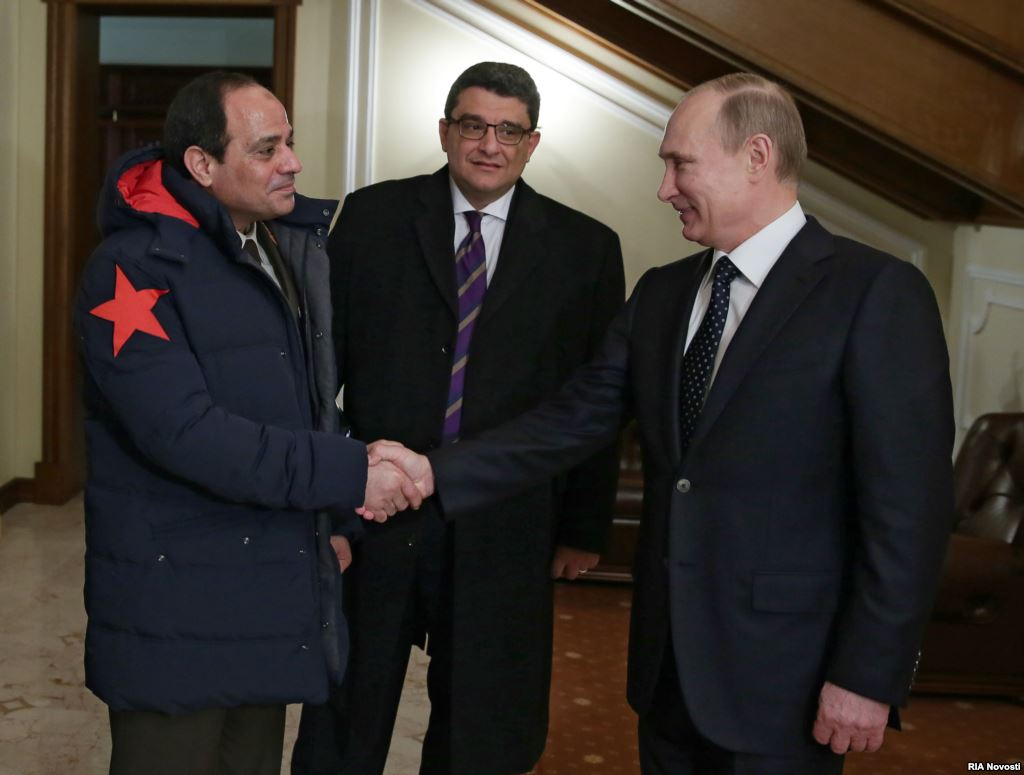 Putin, was one of the first world leaders to congratulate Sisi on his presidential election victory and attended his inauguration ceremony.