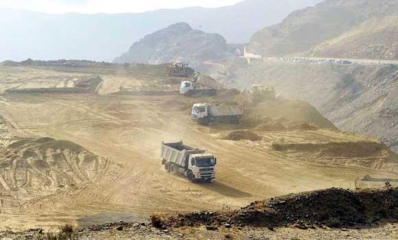 Road-construction-project-in-Al-Baha-