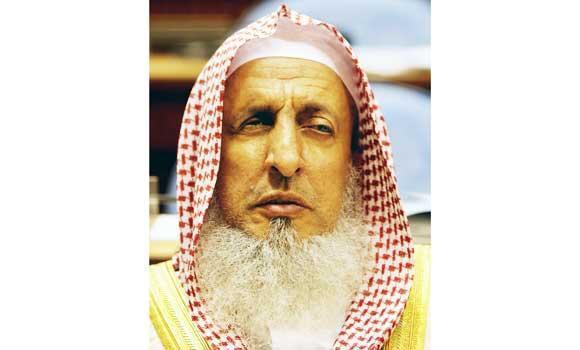 Sheikh Abdul Aziz al-Sheikh.
