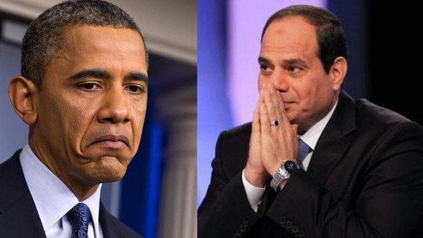 Relations between Washington and Cairo were recently strained.