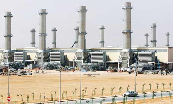 In this April 27, 2012 file photo, a general view of power plant number 10 at Saudi Electricity Company's Central Operation Area, south of Riyadh.