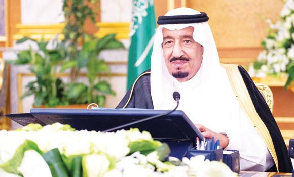 Crown Prince Salman, deputy premier and minister of defense, attends the weekly Cabinet meeting in Jeddah on Monday. (SPA)