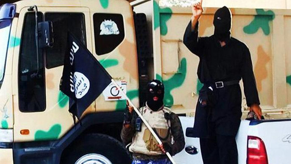 Militants of the Islamic State of Iraq and Syria (ISIS)
