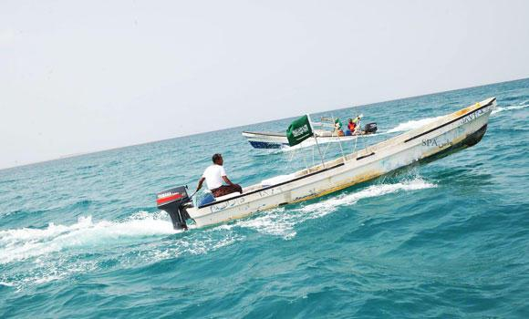 In this file photo, fishermen of the Farasan Island off the Jazan coast depend on the marine resources of the Red Sea for their livelihood. (SPA)