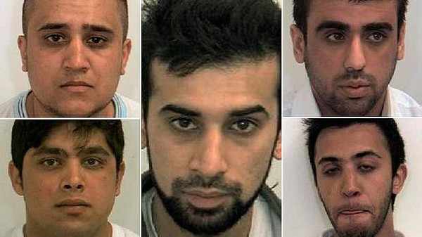 Five men were convicted for sexual offences against girls in 2010.