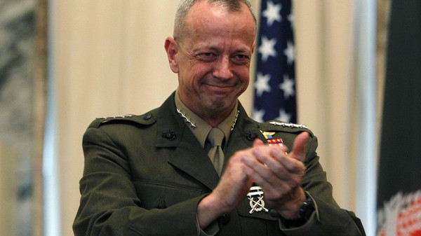 Retired Marine Gen. John R. Allen has been reportedly selected to coordinate new international effort against ISIS in Iraq and Syria.