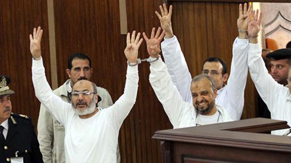 Mohammad el-Beltagy and cleric Safwat Hegazy were convicted of detaining and attempting to kill the policemen.
