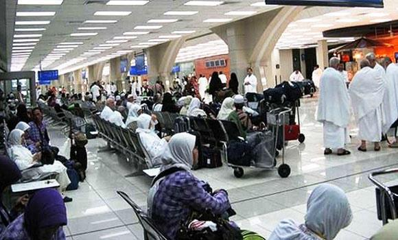 Pilgrims arriving at the King Abdulaziz International Airport are being tested and given preventive medication against the Ebola virus.