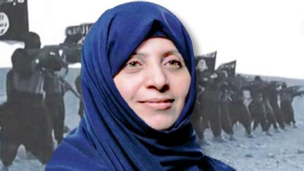 Samira Salih al-Nuaimi was seized from her home on Sept. 17 after allegedly posting messages on Facebook.