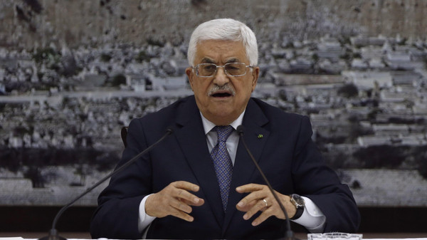 The Palestinian president threatened to break off if the Islamist movement does not allow the government to operate properly in the Gaza Strip.