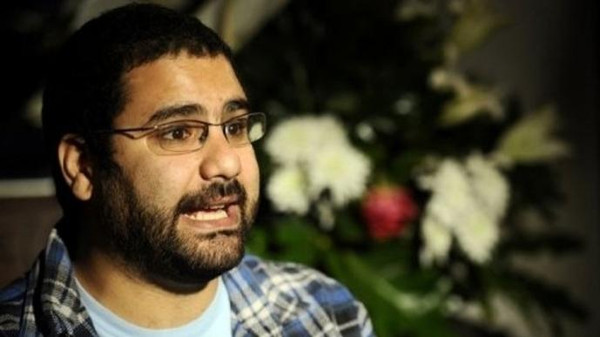 An Egyptian court ordered prominent activist Alaa Abdel Fattah back to jail Monday after he was previously freed on bail during a trial for taking part in an illegal protest.