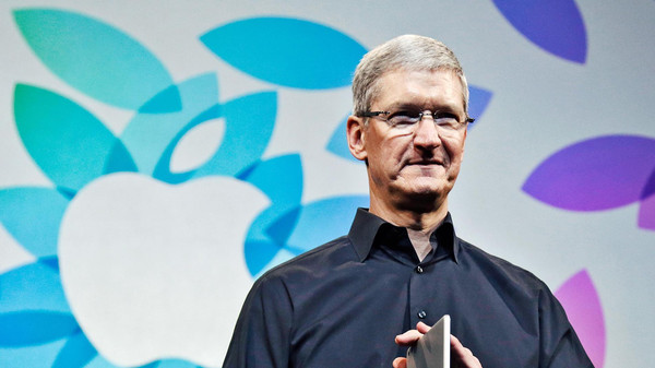 Apple CEO Tim Cook. Orders for the iPhone 6 and 6 Plus began in September, helping Apple chalk up a 12.2 percent jump in revenue last quarter to $42.12 billion.