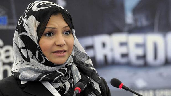 Asma Mahfouz, a leading figure of the uprising that toppled former president Hosni Mubarak, was told her name was on a list of people not allowed to leave the country.