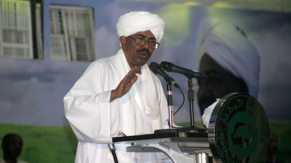 NCP members nominated Bashir on Tuesday as their candidate for April 2015 presidential elections.