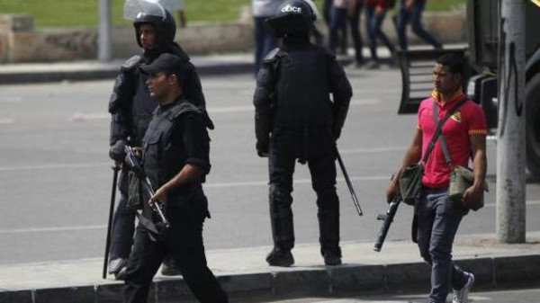 An Egyptian official said a bomb explosion outside Cairo University wounded at least nine people.