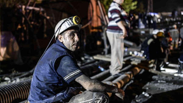 Some 20 miners were trapped in a coal mine in southern Turkey on Tuesday after a portion of the mine collapsed due to a build-up of water.