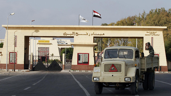 The decision was also taken to close the Rafah crossing into the Gaza Strip.