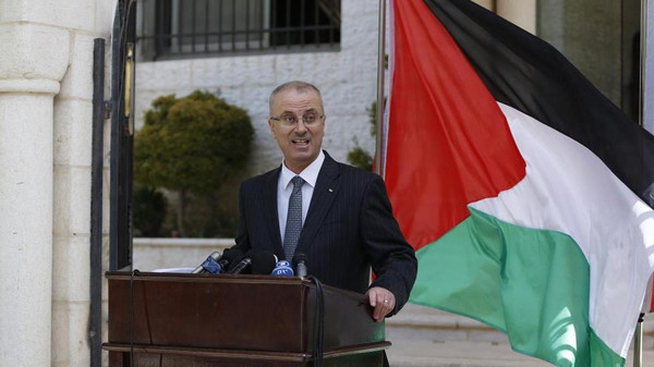 Palestinian technocrat prime minister Rami Hamdallah was due to visit neighborhoods destroyed in a 50-day war with Israel in July and August.