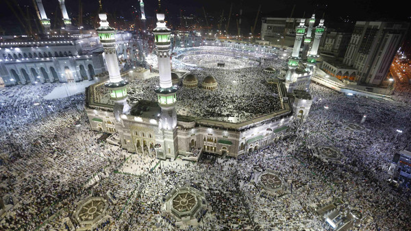 Muslim pilgrims pray around the holy Kaaba at the Grand Mosque, during the annual hajj pilgrimage in Makkah September 27, 2014.