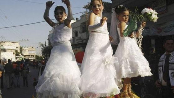 Child marriage among girls is most common in south Asia and sub-Saharan Africa, according to the U.N.