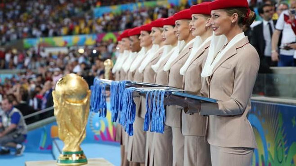 Dubai-based airline Emirates will not renew its World Cup sponsorship with FIFA for the 2018 and 2022 tournaments.