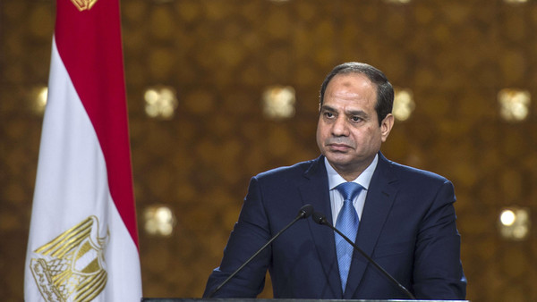 Egypt's President Abdel Fattah al-Sisi told a U.S. business delegation that parliamentary elections will take place before March of 2015.