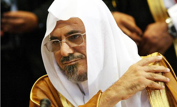 Sheikh Saleh Bin-Humaid, imam and preacher of the Grand Mosque in Makkah