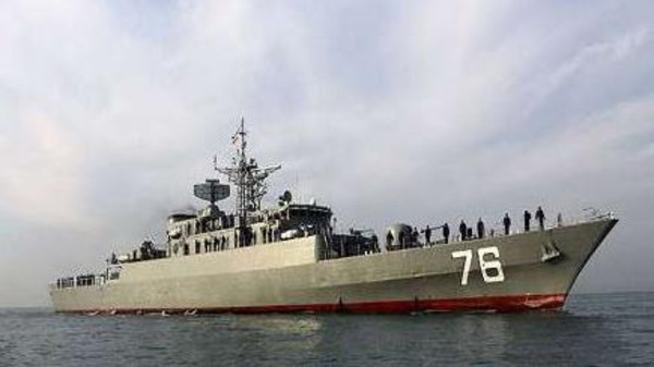 IRNA said the naval group – consisting of a destroyer and support vessel – left the port of Bandar Abbas.