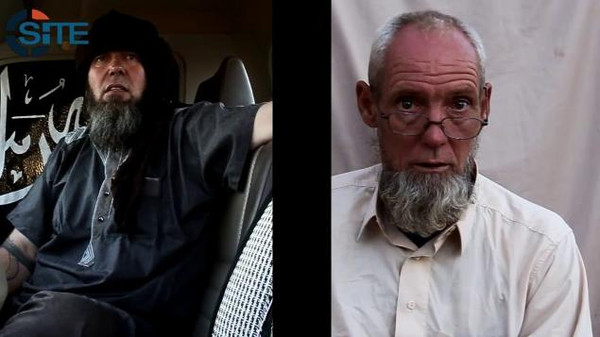 Al-Qaeda in the Islamic Maghreb has released a video purporting to show a French and a Dutch hostage held since November 2011 in the Sahara, Agence France-Presse reported.