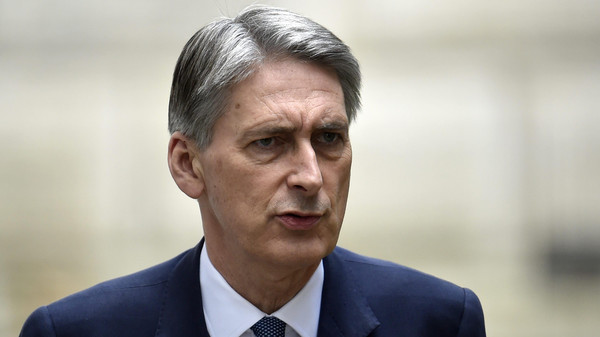 British Foreign Secretary Philip Hammond said on Wednesday he was not optimistic that world powers and Iran would clinch a full nuclear deal by Nov. 24.