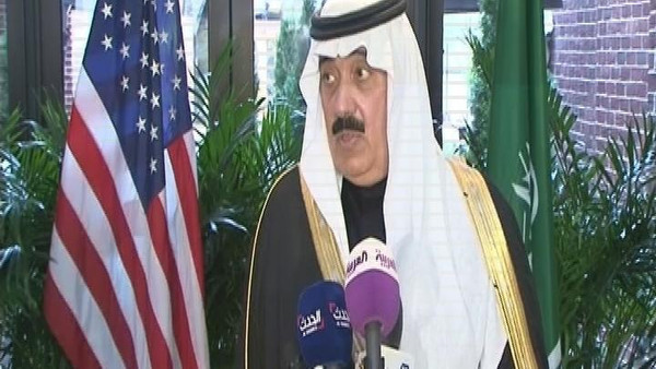 Prince Miteb said negotiations over Iran's nuclear program were a subject of discussion during the meeting with Obama.