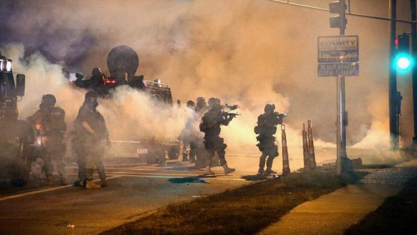 Russia pointed on Wednesday to rioting in Ferguson and protests across the United States as evidence that its detractors in Washington were hypocrites.