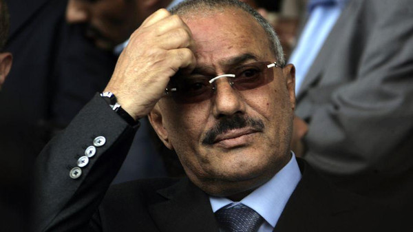 Saleh served as Yemen's first president after unification in 1990 before being forced to step down in February 2012 under a regional peace plan.
