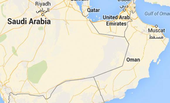 Saudi-omani-border