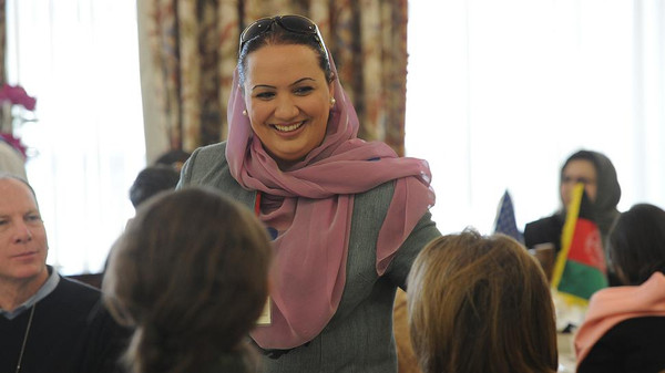 Shukria Barekzai is renowned as a campaigner for improved women's rights in Afghanista.