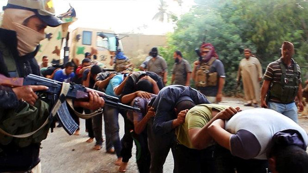 ISIS rounded many members of the Albu Nimr tribe up and shot them at close range.