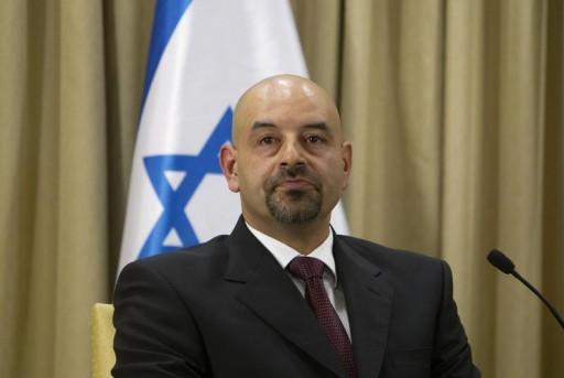 Jordan's ambassador to Israel Walid Khalid Abdullah Obeidat.