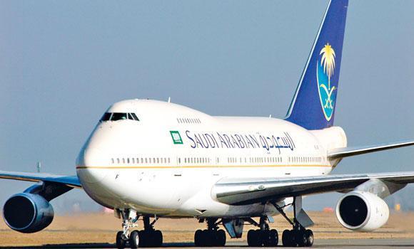 Saudi-Arabian-Airlines-plane-