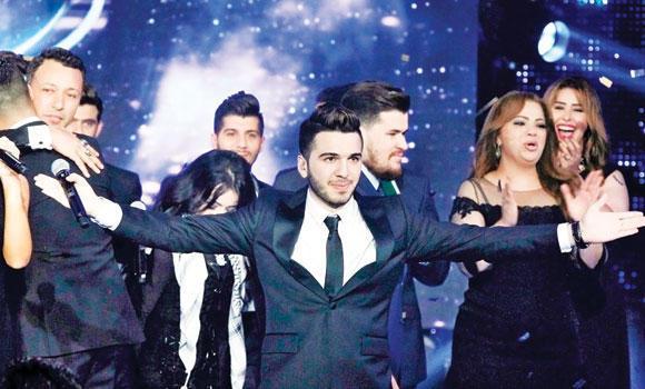 Syrian singer Hazim Sherif