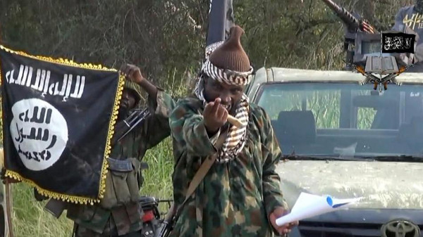Screengrab taken on October 2, 2014 from a video released by the Nigerian Islamist extremist group Boko Haram and obtained by AFP shows the leader of the Nigerian Islamist extremist group Abubakar Shekau