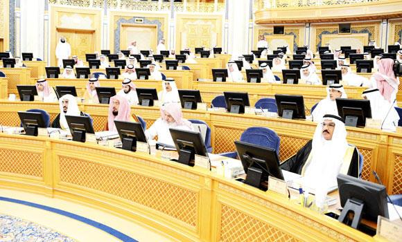 Deputy-chairman-of-the-Shoura-council-presides-over-the-meeting