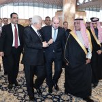 King Salman receives Palestinian president in Riyadh