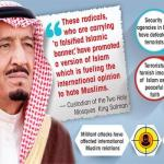 King: Zero tolerance for terror