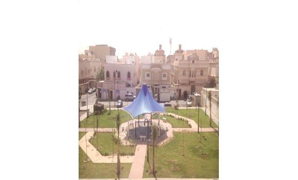 The 24th park in the Al-Nuzha district opened under the municipality's park-a-week program.